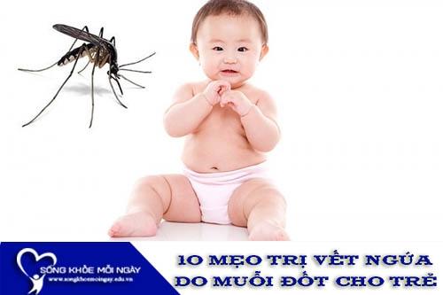 10 Mẹo Trị Vết Ngứa Do Muỗi Đốt Cho Trẻ Theo Kinh Nghiệm Dân Gian