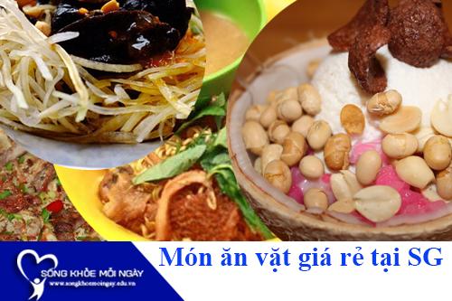 Những món ăn vặt ngon 10 - 20k ngon, bổ, rẻ tại Sài Gòn