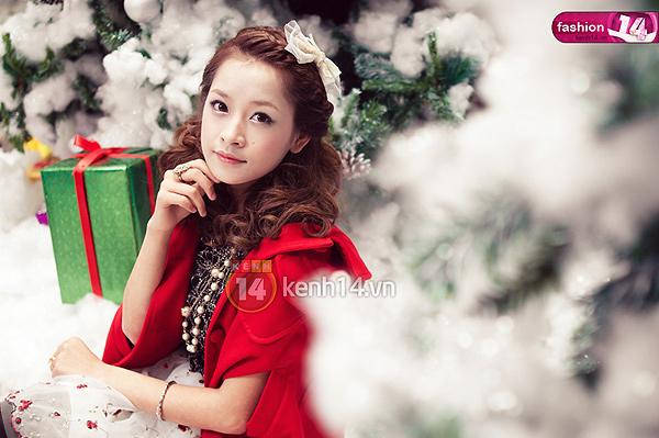 Hướng dẫn bạn make-up nổi bật đêm Noel