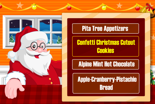 Game Ông Già Noel Làm Bánh
