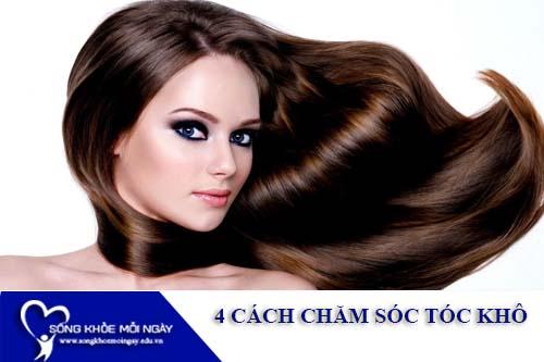 4 Cách chăm sóc tóc khô và chẻ ngọn