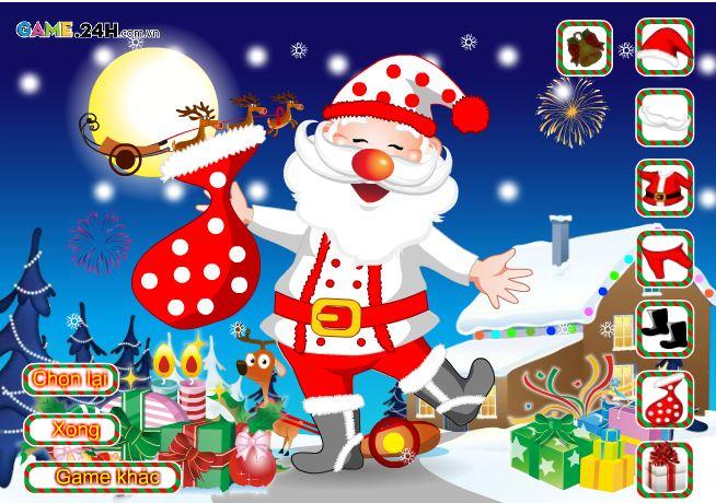 Game Thời trang ông già Noel