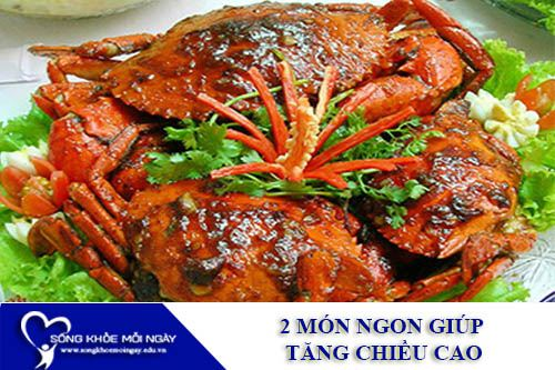 2 Món Ngon Giúp Tăng Chiều Cao Nhanh Chóng