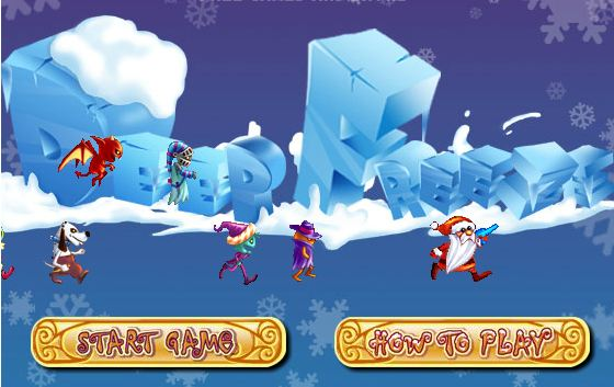 Game Ông Già Noel Bắn Băng