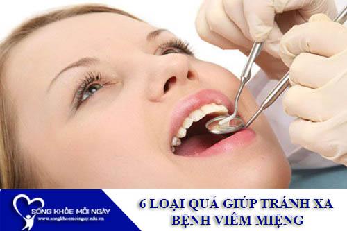 6 Loại Quả Giúp Tránh Xa Bệnh Viêm Miệng