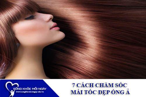 7 Cách Chăm Sóc Mái Tóc Đẹp Óng Ả