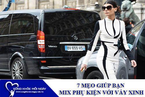 7 Mẹo Giúp Bạn Mix Phụ Kiện Với Váy Xinh