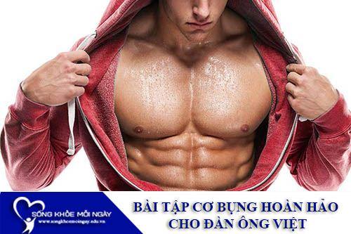 Bài Tập Cơ Bụng Hoàn Hảo Cho Đàn Ông Việt