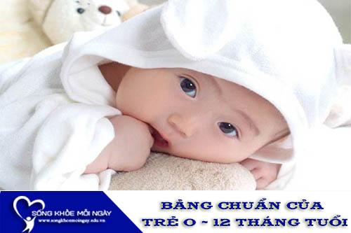 Bảng Chuẩn Chiều Cao, Cân Nặng Của Trẻ 0 - 12 Tháng Tuổi
