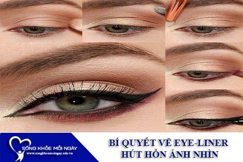 Bí Quyết Vẽ Eye-Liner Hút Hồn Ánh Nhìn
