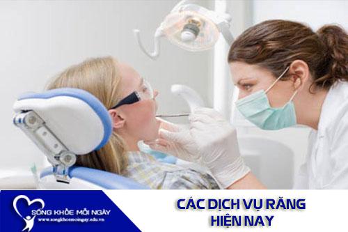 Chia Sẻ Các Dịch Vụ Răng Miệng Hiện Nay