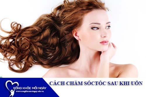 Cách chăm sóc tóc sau khi uốn tốt nhất với 10 phút tại nhà