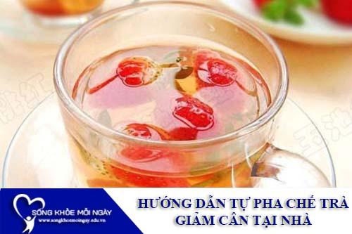 2 Loại trà giảm cân tự làm đơn giản tại nhà