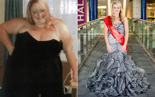 Đoạt vương miện sau khi giảm 90 kg trong 18 tháng