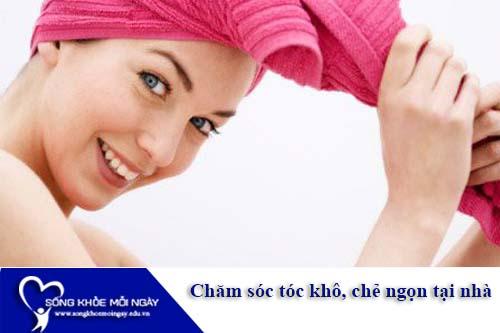 Tất tần tật cách chăm sóc tóc khô xơ tại nhà