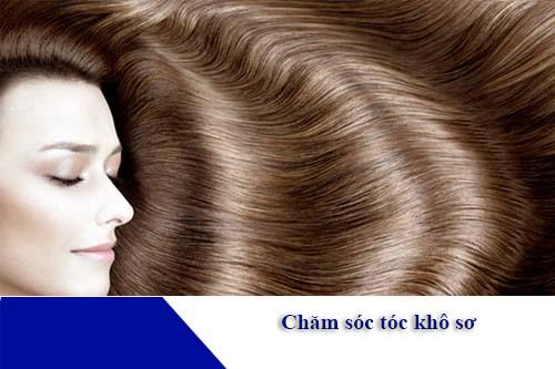 Bí quyết chăm sóc tóc khô xơ, chẻ ngọn
