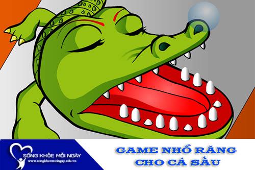 Game Khám răng cho cá sấu