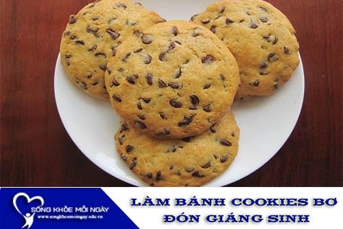 Cách Làm Bánh Cookies Bơ Thật Ngon Đón Giáng Sinh