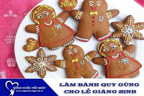 Cách Làm Bánh Quy Gừng Cho Ngày Lễ Giáng Sinh