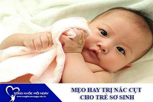 Mẹo Hay Trị Nấc Cụt Cho Trẻ Sơ Sinh