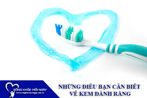 Những Điều Bạn Cần Biết Về Kem Đánh Răng