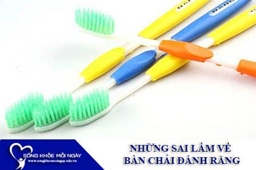 Những Nhận Định Sai Lầm Về Bàn Chải Đánh Răng