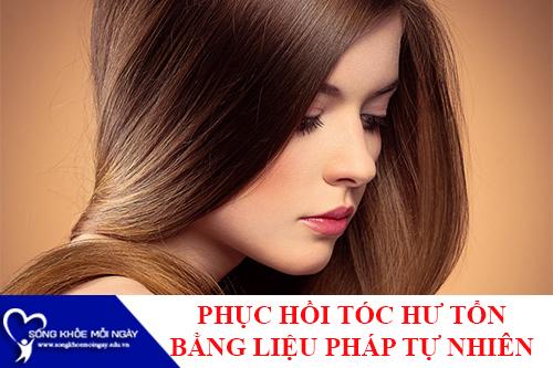 5 Cách phục hồi và chăm sóc tóc hư tổn hiệu quả nhất