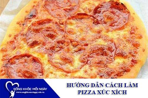 Món ngon mỗi ngày - Pizza Xúc xích