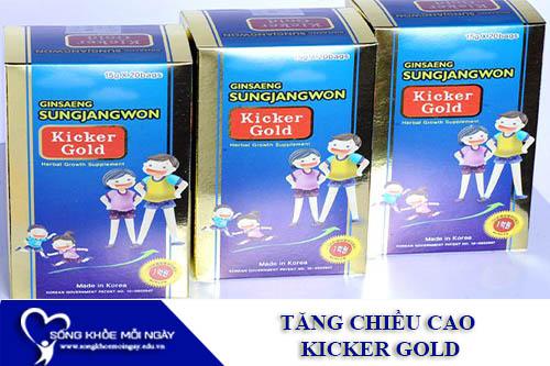Thuốc Tăng Chiều Cao Kicker Gold Của Hàn Quốc